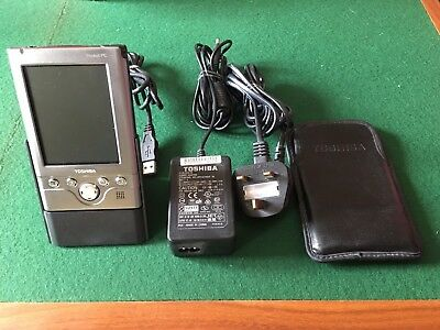 Excellent Condition Toshiba Pocket PC E350 with USB Cradle And Case