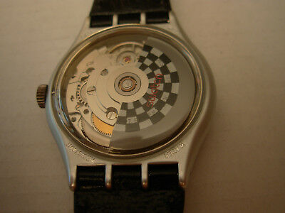 Swatch Special Automatic Prototype Black Hawk - Electa 255 - English Date - 1989
