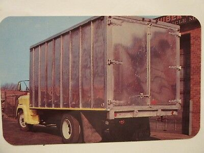 1960's CHEVROLET C50 ? Truck. HUBER WAGON WORKS Reconditioned Bodies. Maspeth NY