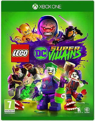 LEGO DC Super-Villains Xbox One Game | BRAND NEW & SEALED