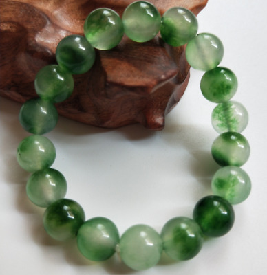 China's natural emerald jade bracelet  Fashion Bracelet 10mm
