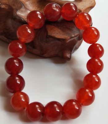 Chinese Red Agate Bracelet Fashion Bracelet  10mm   #1