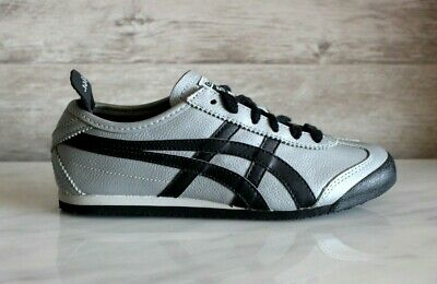Onitsuka Tiger Mexico 66 Leather Silver Atheletic Sneakers New EU-36 Footwear
