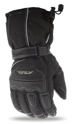 2019 Fly Racing Adult Insulated Aurora Gloves Black Snow Ski Riding Sizes S-3X