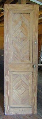 Victorian Hard Pine Closet Door 24 By 78
