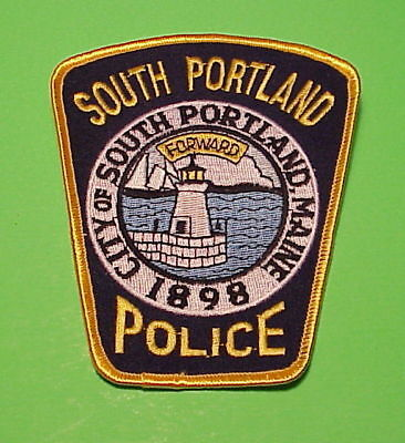 South Portland  Maine  1898  Me  ( Lighthouse )   Police Patch  Free Shipping!!!