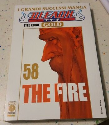 Fumetto Planet Manga Bleach Gold 58 The Fire Tite Kubo Nuovo