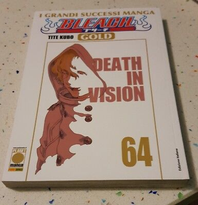 Fumetto Planet Manga Bleach Gold 64 Death in Vision Tite Kubo Nuovo