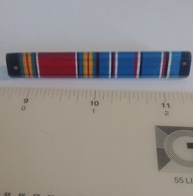 Ww2 Era Us Army Plastic Ribbons Made In Occupied Germany By Otto Lachman