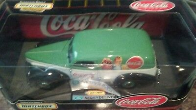Matchbox collectibles coca cola 1940 Ford Sedan delivery truck. 1-18 scale...