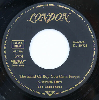 ``7`` The Raindrops - The Kind Of Boy You Can't Forget - dt. London 20 723