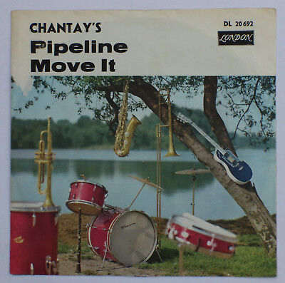 ``7`` The Chantay's - Pipeline / Move It - dt. London 20 692