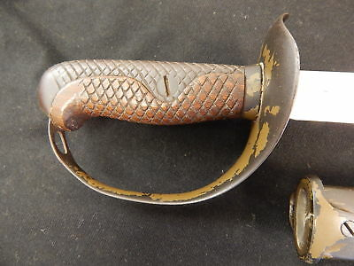 Japanese Matching WWII Cavalry Combat Sword Original No Reserve ships Worldwide