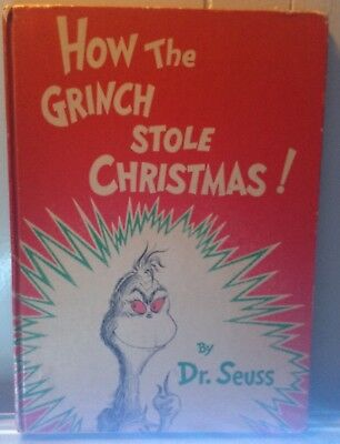 Dr Suess How the Grinch Stole Christmas book 1957