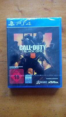 Call Of Duty-Black Ops 4 PlayStation 4 OVP (NEU)