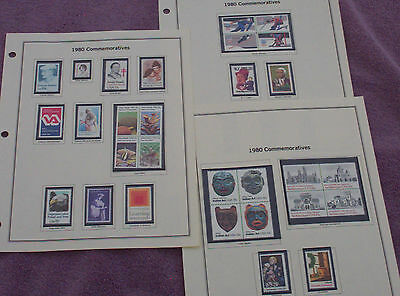 Lot Of Over 270 United States Postal Stamps Collectable From 1943 T0 1980