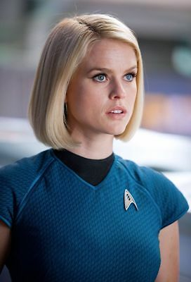 2013's STAR TREK: INTO DARKNESS Alice Eve as Carol Marcus	color 8x10 scene #1