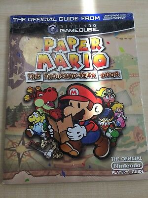 Paper Mario The Thousand-Year Door Official Guide Lösungsbuch Englisch