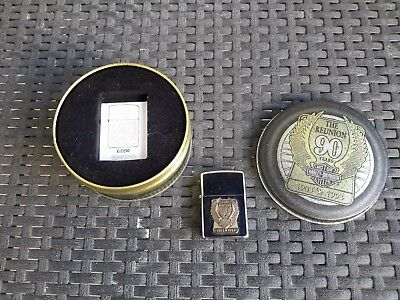 """Zippo """" The Reunion 90 Years Of  H.d."""" Edition Des 90 Ans Harley Davidson"""