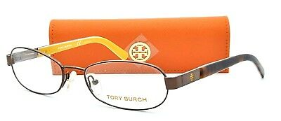 New TORY BURCH Brown Tortoise Authentic Designer RX Eyeglasses TY1017 105 50-17