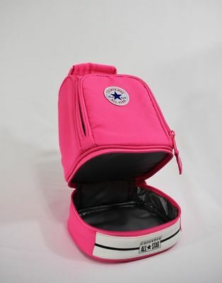 New W Tags Girls Converse All Star Insulated Pink Lunch Box Back 2 School