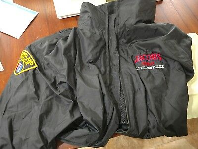 Cleveland Police Jacobs Field Windbreaker With Hood, Cleveland Indians