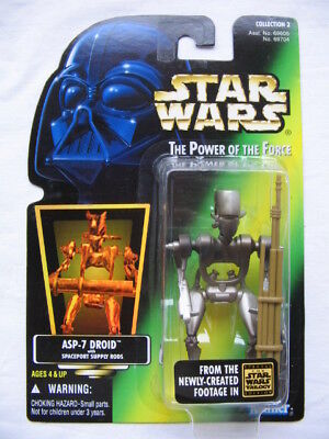 Star Wars POTF-2 - ASP-Droid with Spaceport Supply Rods (Uncle Owen Farm)