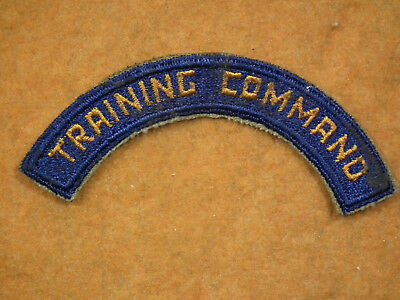 #2036 Us Wwii / Ww2 Usaaf Army Air Force Patch Training Command Tab