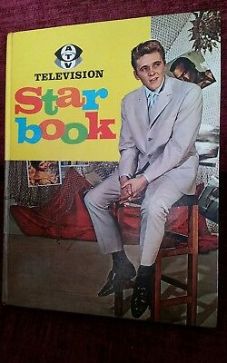 Television Star Book 1962 Billy Fury In Colour On Cover in good clean order