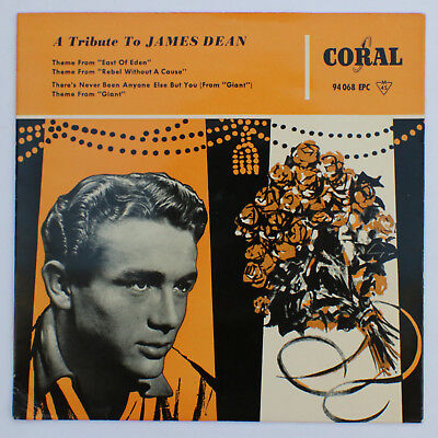 ``7`` Versch. Orchester - A Tribute To James Dean - dt. Coral EP 94 068