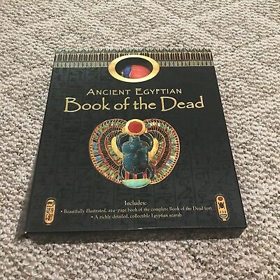 Ancient Egypt Book of the Dead and Spells with Scarab Gift Set