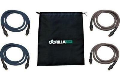 Extra Heavy Band Kit for Gorilla Bow Workout with 4 Resistance Training Bands