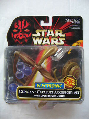 Star Wars Ep.1 - Deluxe Gungan Catapult Accessory Set with Super Bright Lights