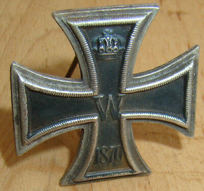 IMPERIAL GERMAN IRON CROSS 1 class 1870