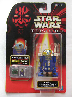 Star Wars Ep.1 - R2-B1 Astromech Droid with Power Harness *** Rare ***