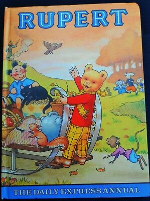 1978 Original Rupert Bear Annual, Price Unclipped