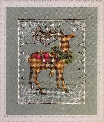 Donner Christmas Eve Couriers Nora Corbett Mirabilia Cross Stitch Pattern