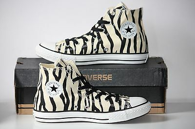 Converse All Star Zebra Stripes - Rare - US Women's 7, Men's or Kids 5