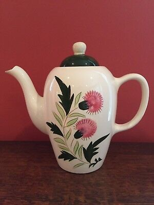 Vintage Stangl Pottery Thistle Coffee Pot