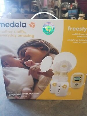 Medela freestyle double electric mobile breast pump