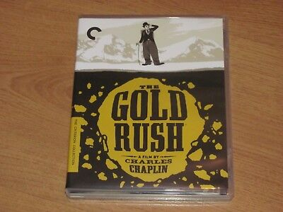 The Gold Rush (1925/1942) Blu-Ray Region A Criterion Collection Charlie Chaplin