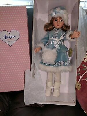 """Effanbee Reproduction doll 18"""" American Child Grand Finale mint in box"""