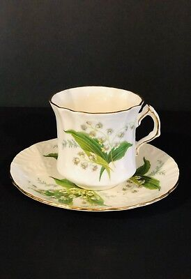 Hammersley Fine Bone China Tea Cup And Saucer Set From England