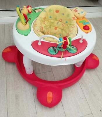 Mothercare Little Circus Walk Around n Activity Centre 2in1 Walker Baby Musical