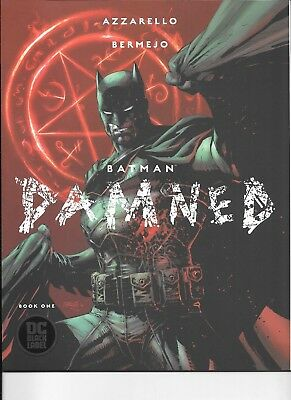 Batman Damned #1 (DC, 2018) First Print UNCENSORED Jim Lee with Fast Ship