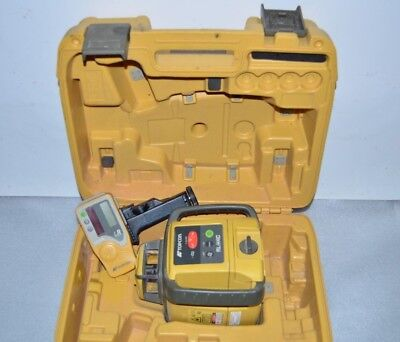 Topcon RL-H4C Self-Leveling Slope Rotary Laser Level w/ Receiver