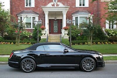 2010 Bentley Continental GT GT Speed AWD 2dr Convertible 2010 Bentley Continental GT Speed AWD 2dr Convertible WALD Edition