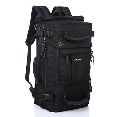 KAKA Classic Big 17 in Laptop Backpack, Travel Hiking & Camping, Water Resistant