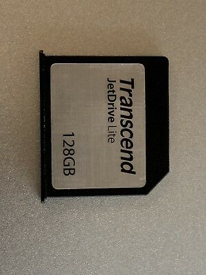 128GB Transcend JetDrive Lite 130 Expansion Card MacBook Air 13 (TS128GJDL130)
