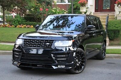 2014 Land Rover Range Rover Autobiography LWB 4x4 4dr SUV 2014 Land Rover Range Rover Autobiography LWB Lumma Edition Merino Black on Red